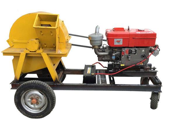 木材粉碎机和移动式木材粉碎机的优势